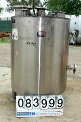 Used- 250 Gallon Stainless Steel Lee Industries Kettle
