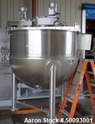 Used- LEE Industries Twin Agitated Kettle, Model 400 ETA, 400 Gallon