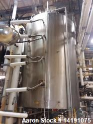 Used 5000 Gallon Lee SS Jacketed Dual Motion Kettle.