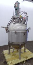 Used- 80 Gallon Stainless Steel Lee Industries Vacuum Kettle, Model 80VK