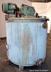 Used-  700 Gallon Stainless Steel Newarc Welding Kettle
