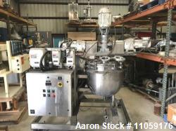 30 Gallon Triple Motion Jacketed Vacuum Kettle, built by JC Pardo and Gifford-Wood, Model 30 GAL AG...