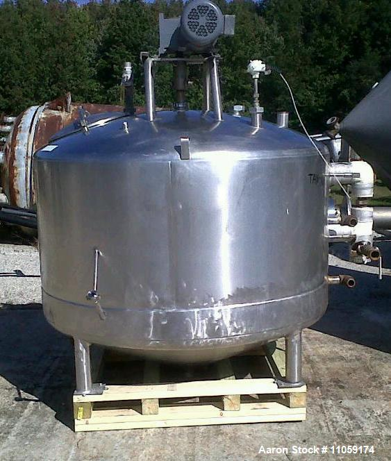 Used- 500 Gallon Mueller Jacketed Mixing Kettle/Tank.