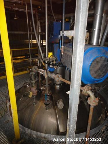 Used- 10,000 Liter Olsa Twin Motion Vacuum Kettle, Model 400