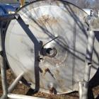 "Used- Lee 1500 Gallon Jacketed Kettle, Model- 1500U9PMS. 6' 6"" diameter x 7' height, stainless steel construction, double mo..."
