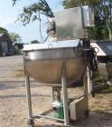 Used- 200 Gallon Stainless Steel Single Motion Scrape Agitated Kettle