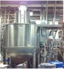 Used-Lee 1000 Gallon Stainless Steel Jacketed, Triple Motion, Scraper Agitated with Homogenizer, Tri-Mix Kettle, Model 1000D...