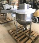 Used- 50 Gallon Lee Kettle with Double Motion Scraper Agitation