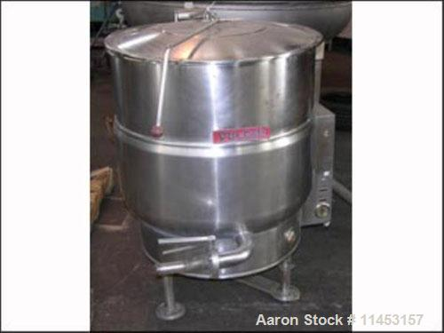 Used- 60 Gallon Vulcan Electrically Heated Kettle, Model VEL-60