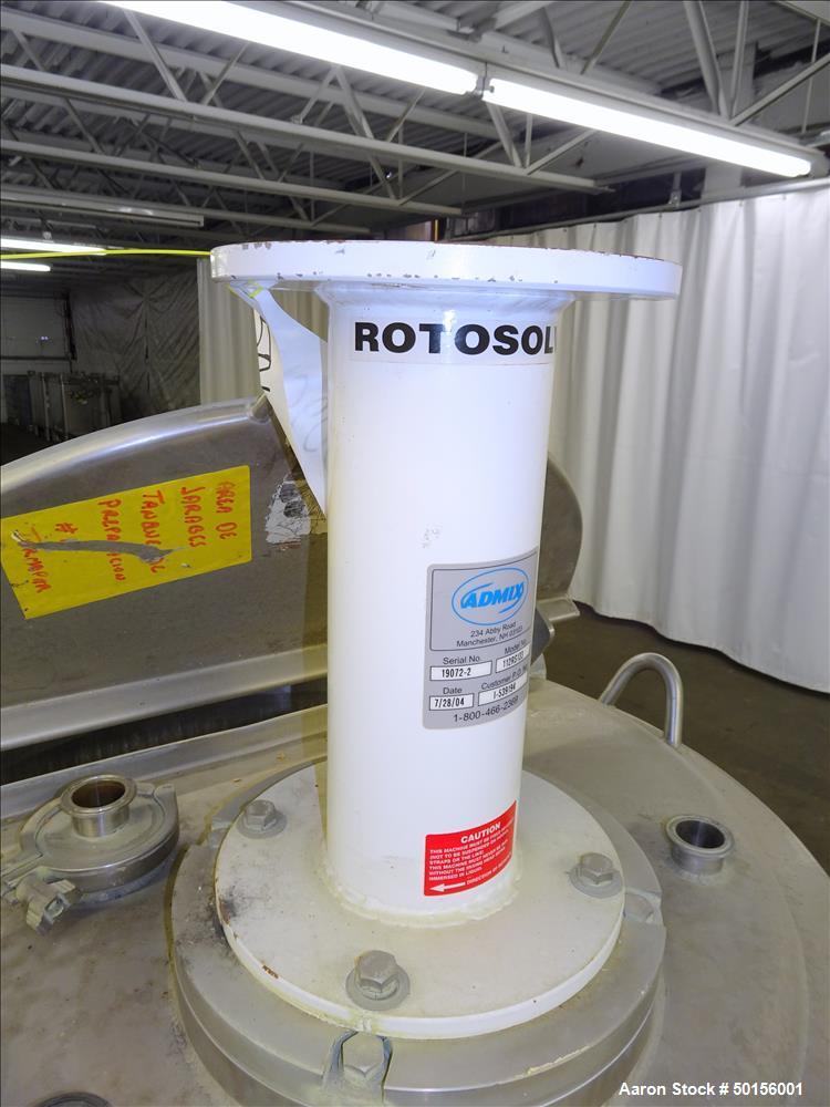 Used- Walker Stainless Kettle, 400 Liter (105.6 Gallon), 304 Stainless Steel, Ve