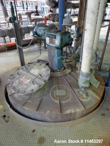 "Used- 1,000 Gallon Whiting Metals Kettle. 304 stainless steel construction, dish top and bottom, 64"" diameter x 64"" straight..."