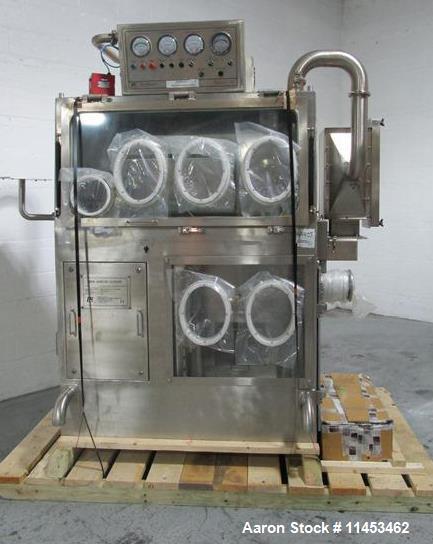 Used- Powder Systems LTD Drum Sampling Isolator.