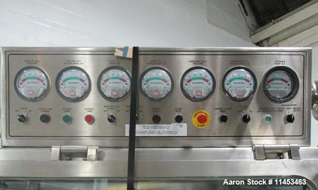 Used- Powder Systems LTD Dispencell with Sampling Isolator.