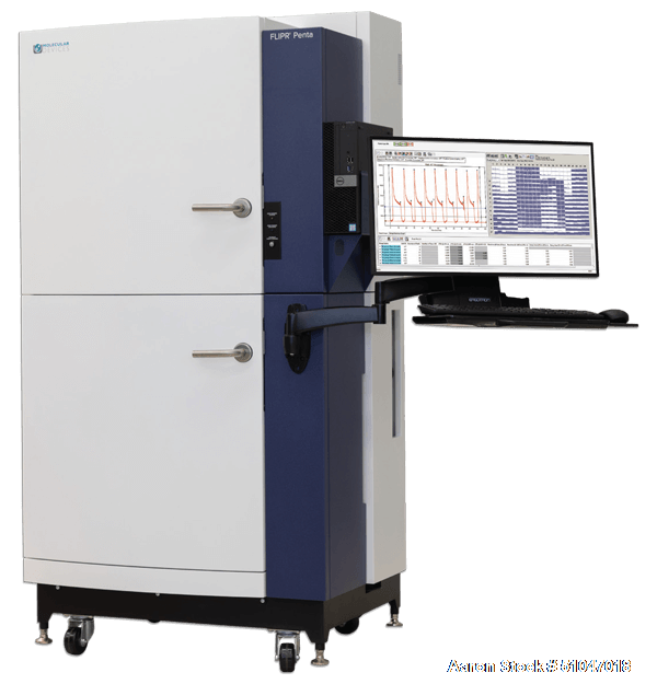 Unused- Molecular Devices (FLIPR Tetra) High-Throughput Kinetic Screening