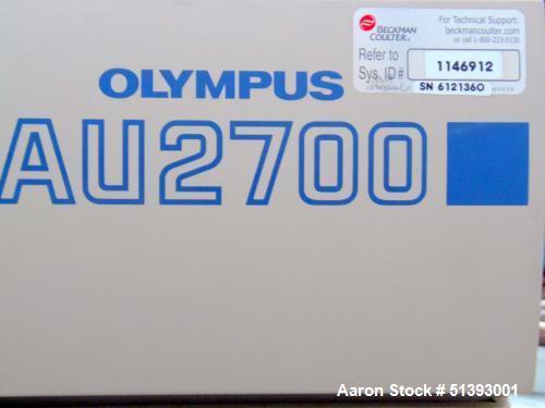 Used- Beckman Olympus AU 2700 Chemistry Analyzer