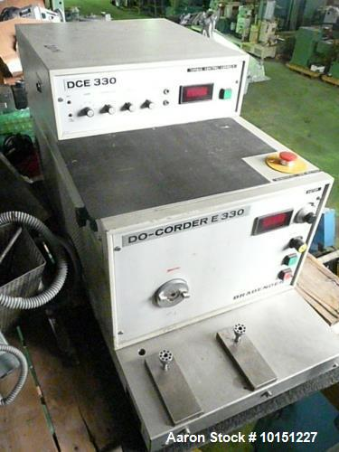 Used- Brabender Torque Rheometer Processor. Including the following: Brabender Model DO-Corder E330 drive system, Brabender ...