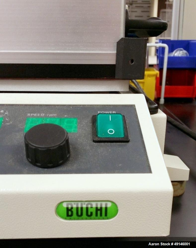 Used- Buchi Syncore Polyvap Reactor. With Deep-Temperature Insulation and Solvent Recovery. Allows fast evaporation of up to...
