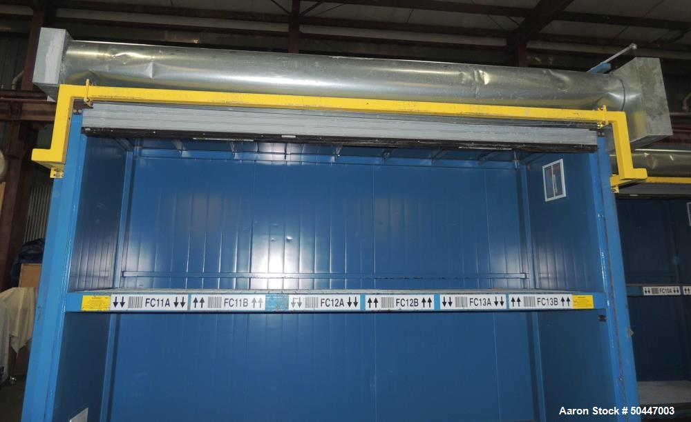 Used- Denios, Inc Flammable Chemical Storage Cabinet / Building.