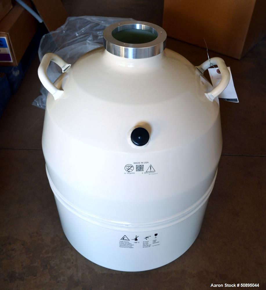 Used- Dewar 47 Liter Liquid Nitrogen Tank, Model 9918999