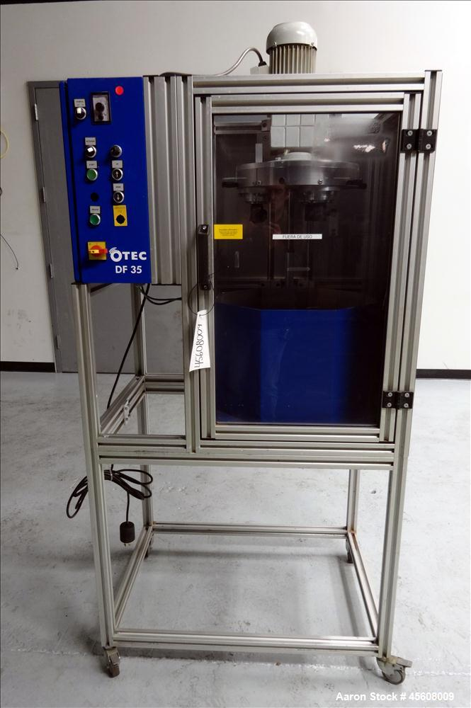Used- OTEC Series DF Drag-Finishing Machine, Model DF 35.
