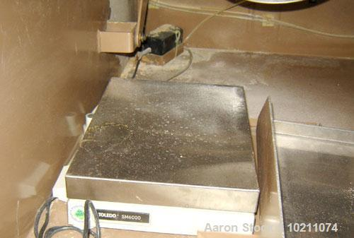 Used-Gradex 2000 Particle Size Analyzer, Model G203-SM1. 115 volt, 6.7 amps, single phase, .96 kva, 60 hz. Minimum supply ci...
