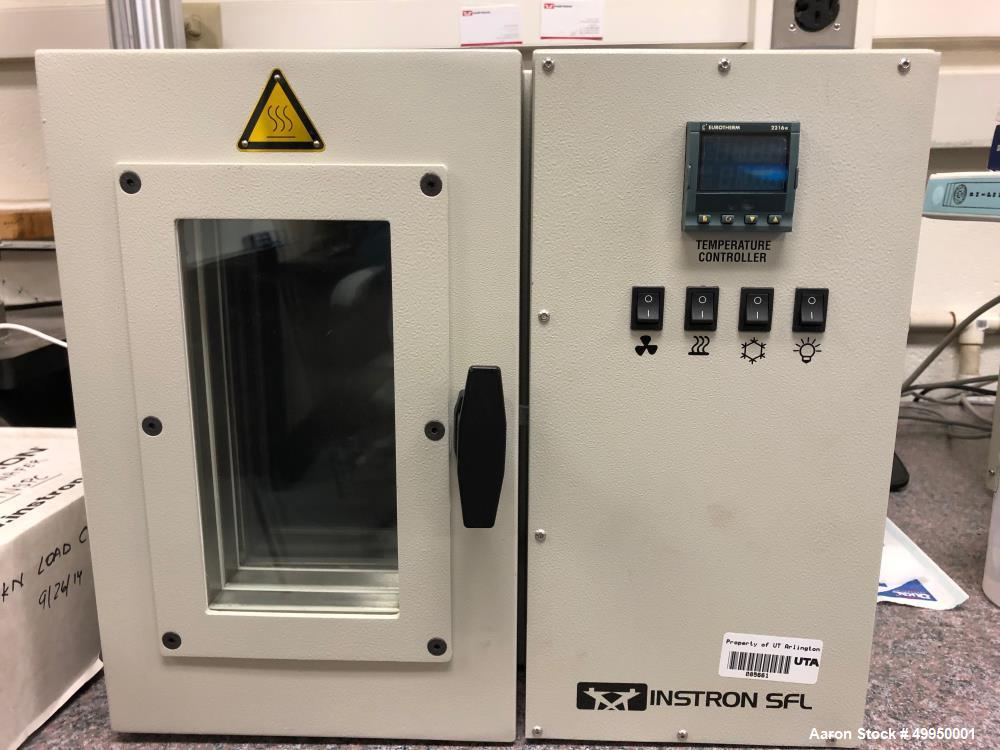 Used Instron MicroTester; Model 5848; used to measure Young's modulus, ultimate strength; forces vs. deformation measurement...