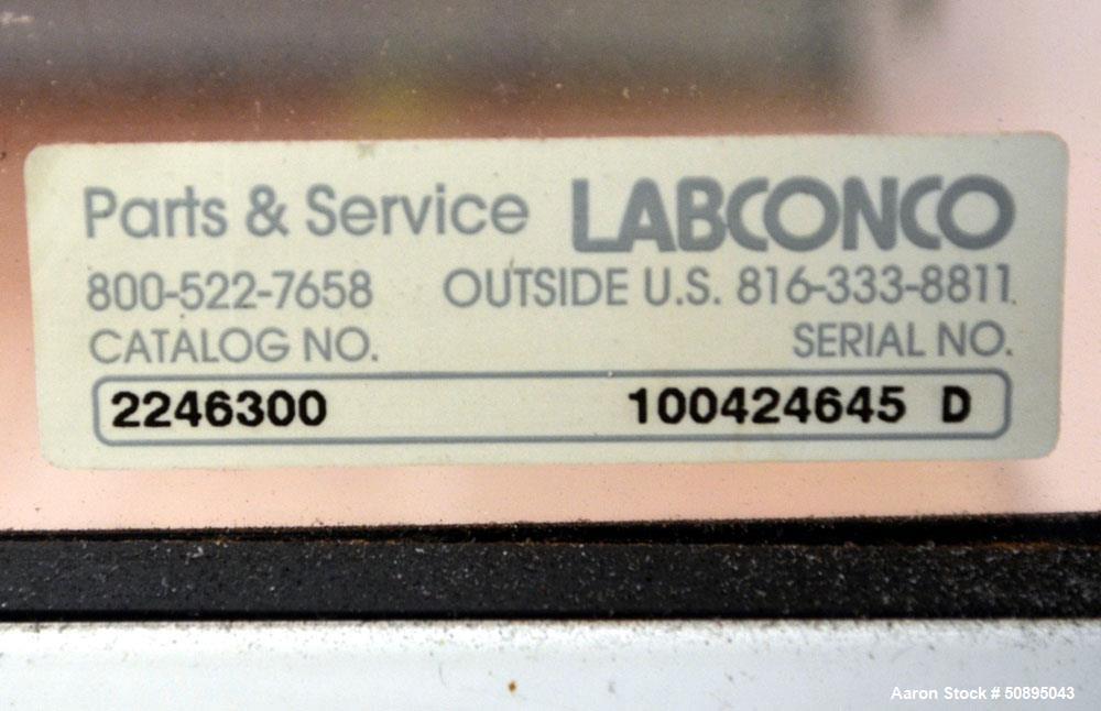 Used- Labconco Fume Hood, Model 2246300