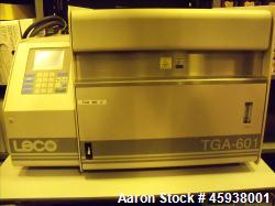 Used- Leco TGA-601 Thermogravimetric Analyzer, Model 604-100-600.