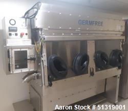 Used-Germ Free Laminar Flow Glovebox Isolator