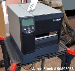 Used- Zebra ZM600 Label Printer