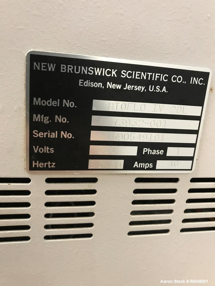 Used- New Brunswick Scientific BIOFLO IV Fermentor/Reactor