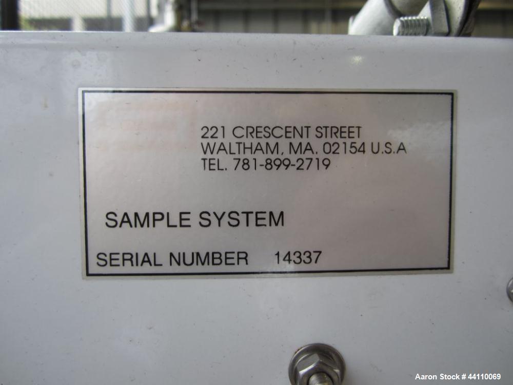 Used- Panometrics Oxygen Analyzer Sample System