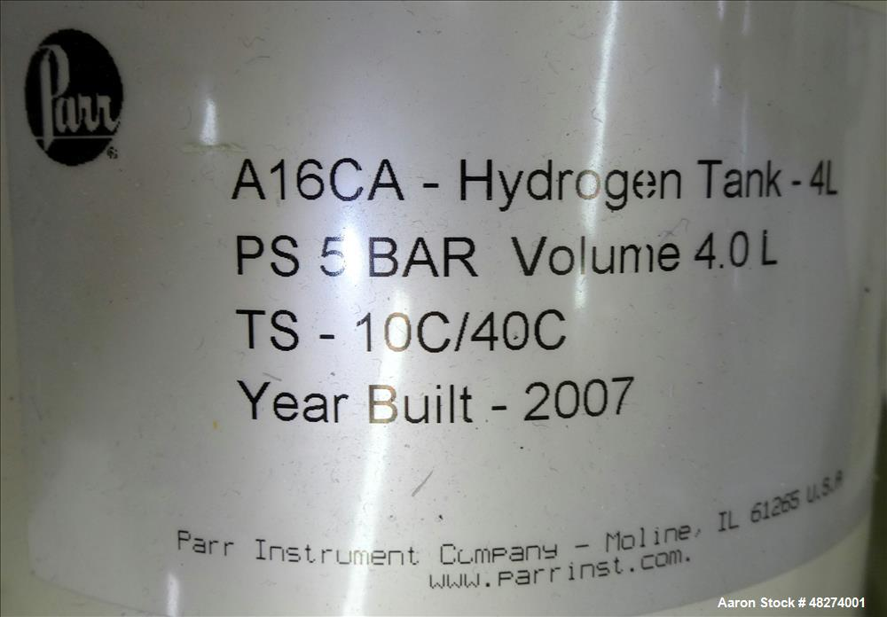 Used- PARR Model 3911 Shaker Hydrogenation Apparatus.