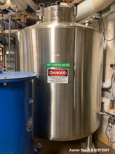 Used- Paul Mueller WFI Multi Effect Distillation Still