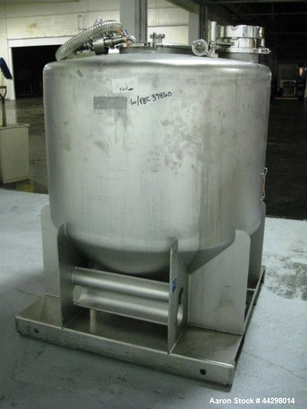 Used- Stainless Steel Powder Systems Limited (PSL) Monocell IBC Isolator