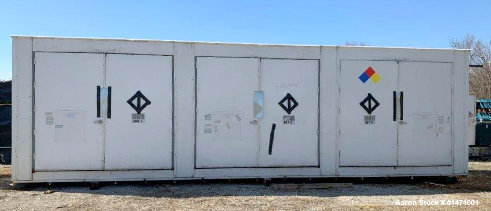 Used- Indoor / Outdoor Chemical Storage / Flammables Suppression Cabinet