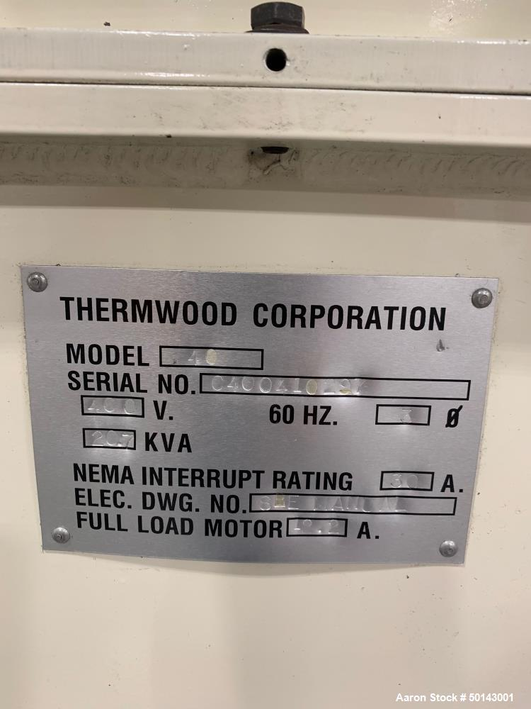 Used- Thermwood CNC Router, Model 80.