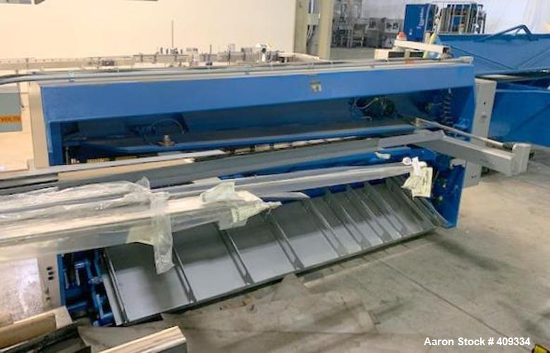 """Used- Guifil """"GHE"""" Hydraulic Guillotine Shear, Model GHE630."""