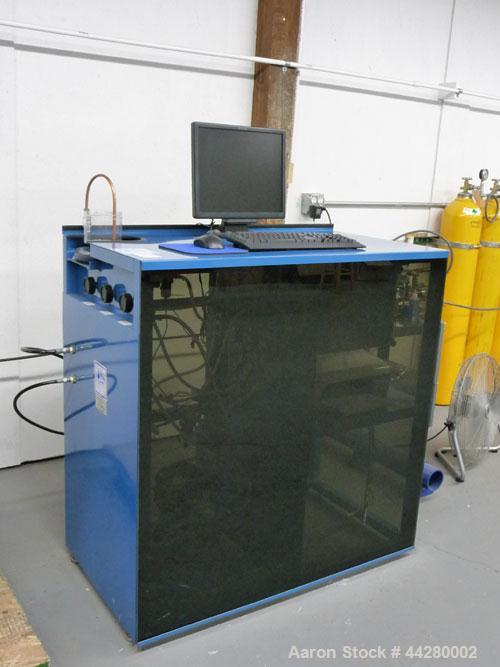 Used-Hydro-Test Products Hydrostatic Water Jacket Cylinder Test Station.  Test range of 2,000 - 9,000 psi in auto mode; 2,00...