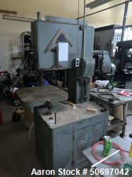 Used- Vertical Band Saw.