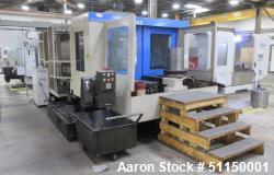 Used- KIA Model Center H63 CNC Horizontal Machining Center
