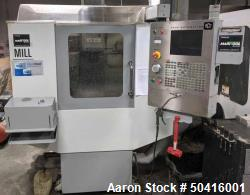 Used-Haas Super Mini-Mill.   Spindle rpm is 15,000 max, Programmable coolant, Renishaw probing system, Expanded Memory, Rigi...