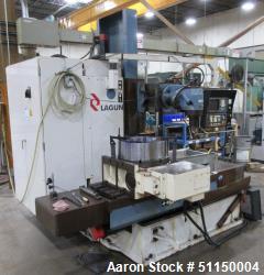 Used- Lagun Model LBF-L1200 CNC Universal Milling Machine.