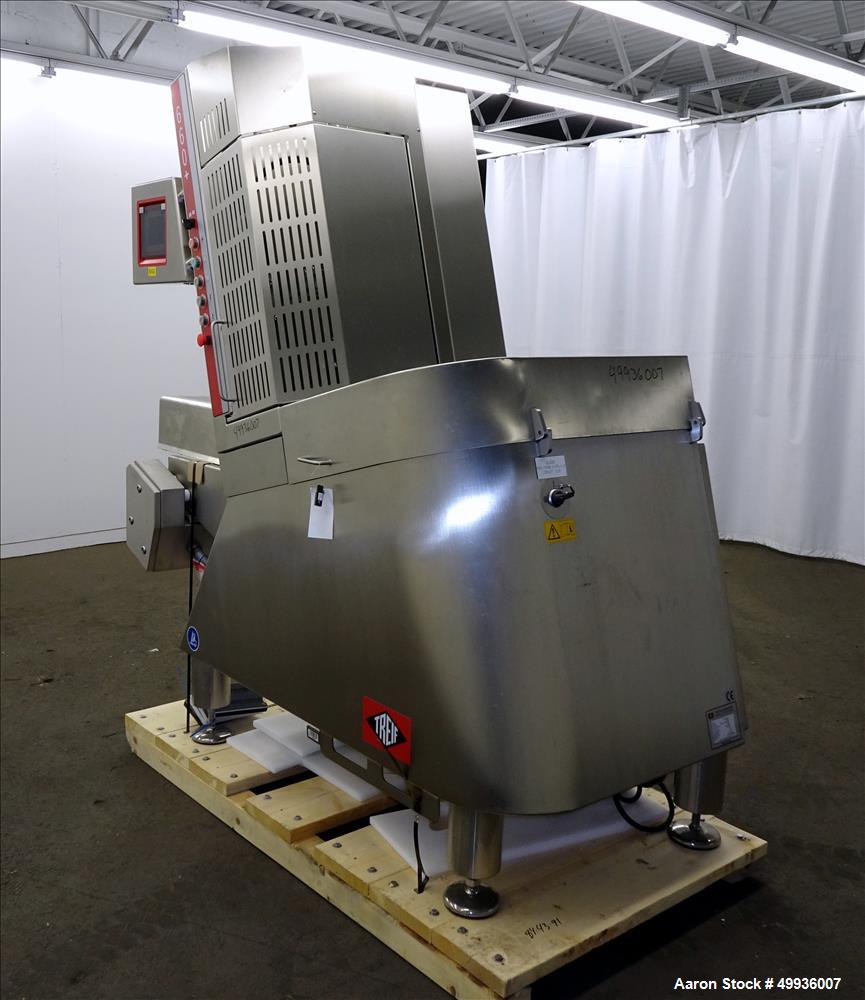 Used-Treif Slicer, Model Divider 660+.  320 x 130 mm / 280 x 160 mm infeed chamber.  Serial # 660000 17869 120022, Built 201...