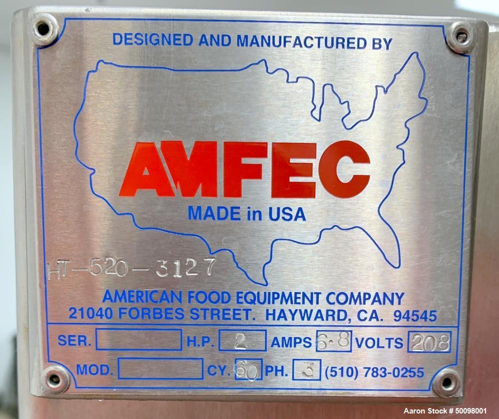 Used- Henneken Macerator, Model HT-520.