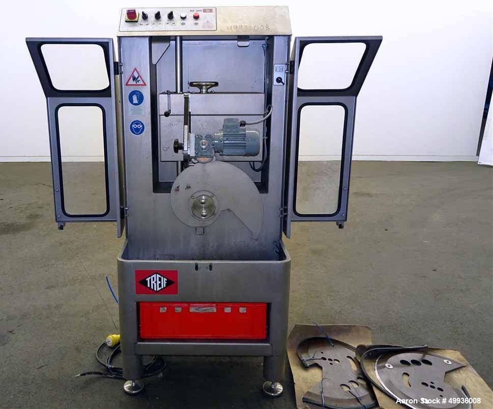 Used-Treif Blade Sharpener, Model SD 380.  Serial # 243002.61857.103001, Built 2007.
