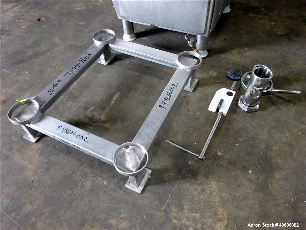 Used- Vemag Double-Screw Vacuum Filler, Model ROBOT HP15C.