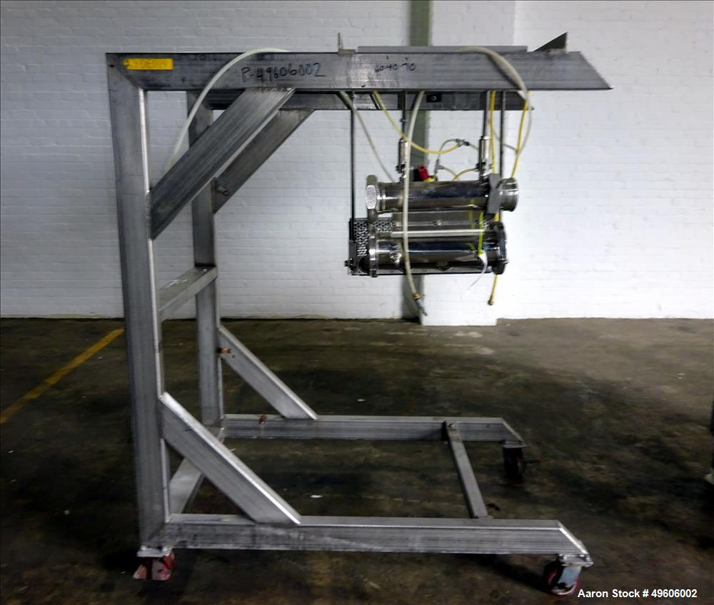 Used- Vemag Double-Screw Vacuum Filler, Model ROBOT HP15C.