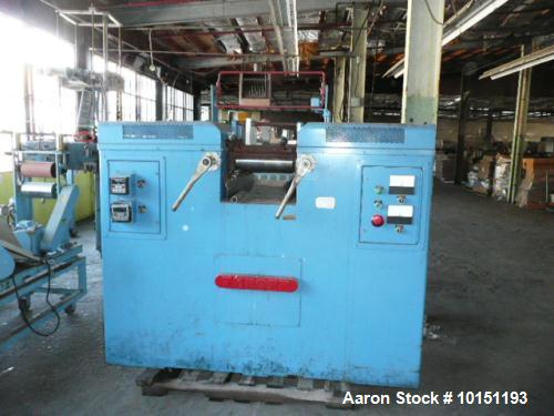 Used- Lehman Thropp Two Roll Mill