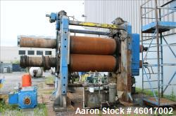 Used- Farrel 2 Roll Calendar, Model 85A-1013.